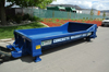 Sani-Hut concrete washout trailer