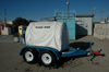 Sani-hut 800 gallon portable potable water tank