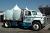Sani-Hut potable water truck